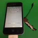 【修理実績No.60】iPhone4Sのドックコネクター交換