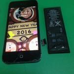 【修理実績No.58】iPhone5のバッテリー交換